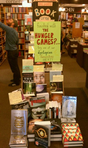 Finished with the Hunger Games? Try one of our dystopian favorites next!
