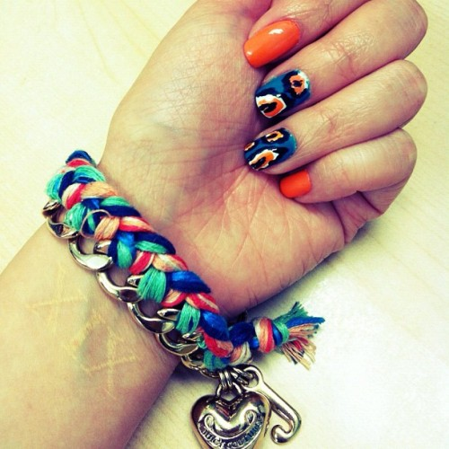#Ikat Nails 💅  (Taken with instagram)