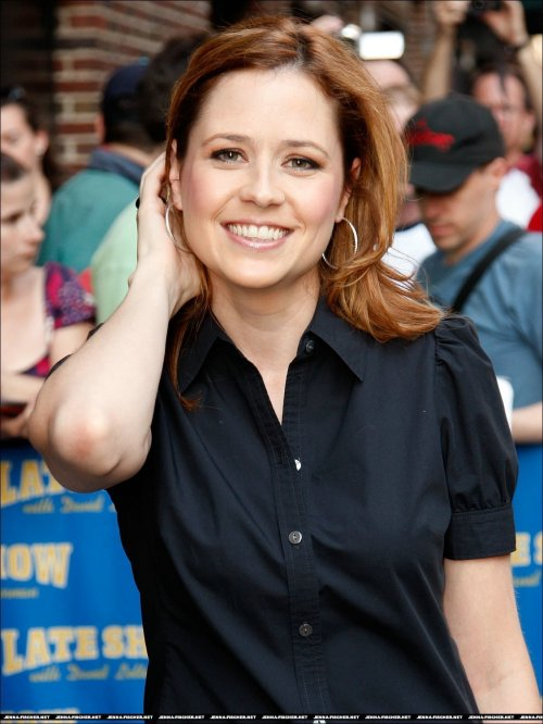 Expect Jenna Fischer spam over the course of my life.