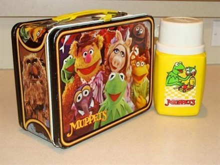 Muppets Lunch Box [Pinterest]