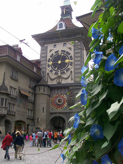 visitheworld:  Zytglogge-Turm, a famous landmark in Bern, Switzerland (by kristofarndt).