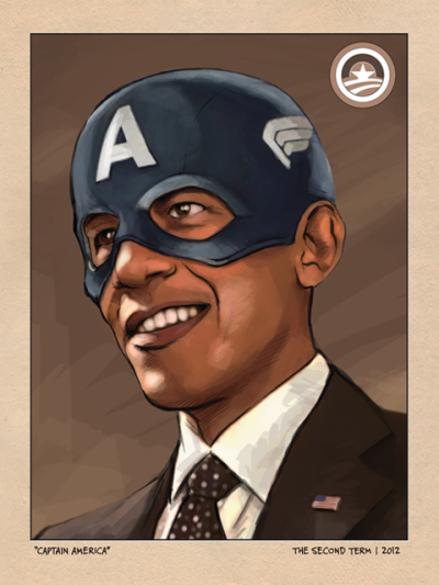 barackobama:  Today in cool: the Obama Poster Project.