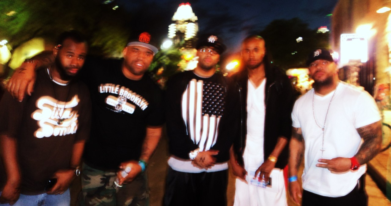 Blurry…. but still dope! MSlago, Torae, Holla, Sha Stimili, Apollo Brown