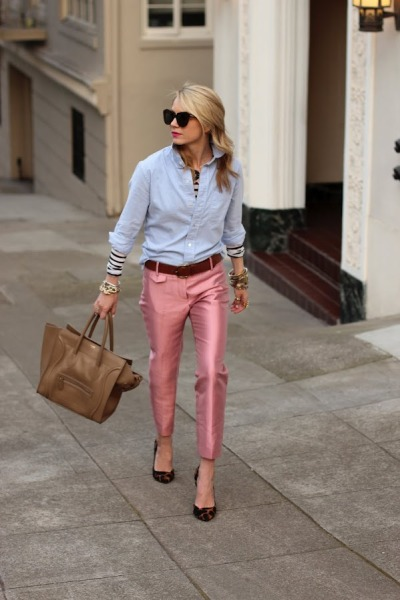 prepfection:  Blair Eadie of Atlantic-Pacific love this chic outfit!!!  and spring is here!