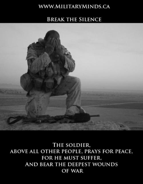 droffats-hsoj:  Powerful freakin words. www.MilitaryMinds.ca