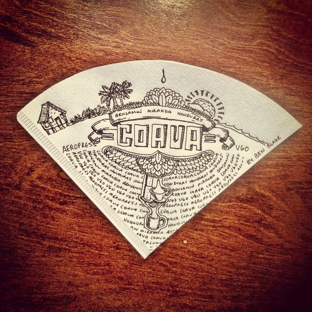 Coava #coffee #doodle (Taken with instagram)