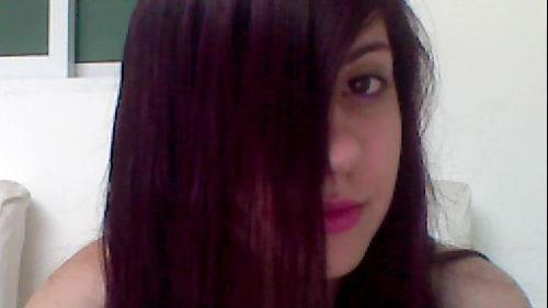 My new violet hair =)