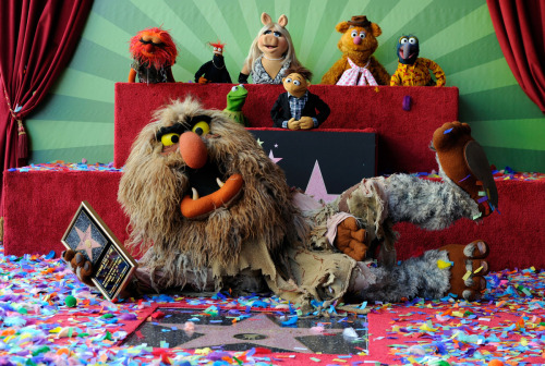 The Muppets get their Star on the Hollywood Walk of Fame - March 20, 2012