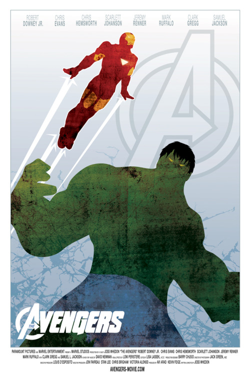 The Avengers by Ollie Boyd