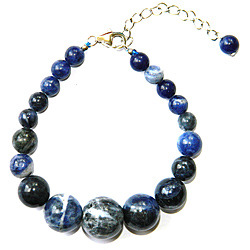 sodalite gemstone bracelet jewelry for women by Pearlz Ocean