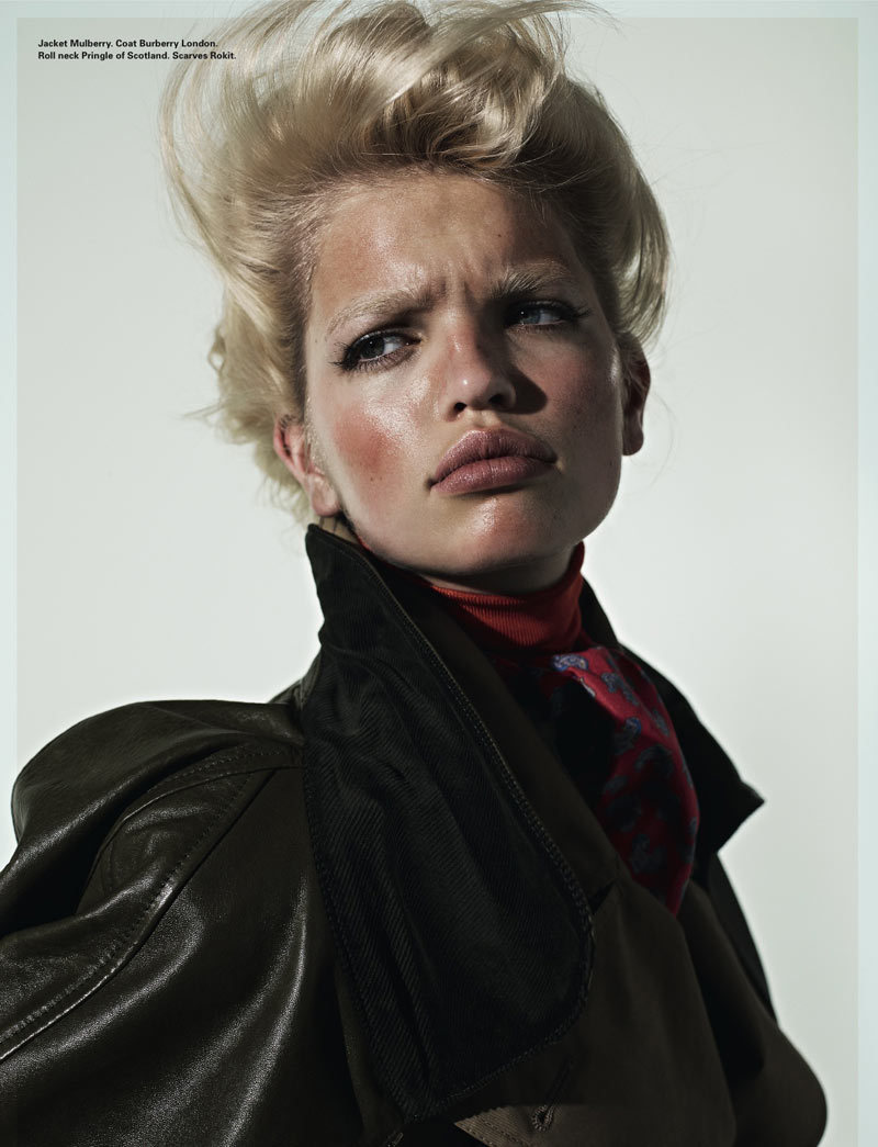 Daphne Groeneveld for i-D Magazine Photographed by Richard Bush Styled by Sarah Richardson