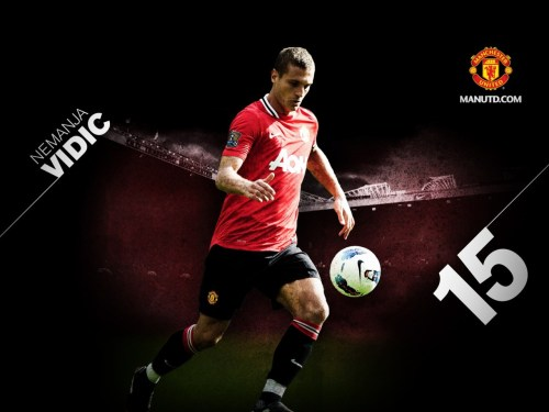 We miss you Vidic!!!!