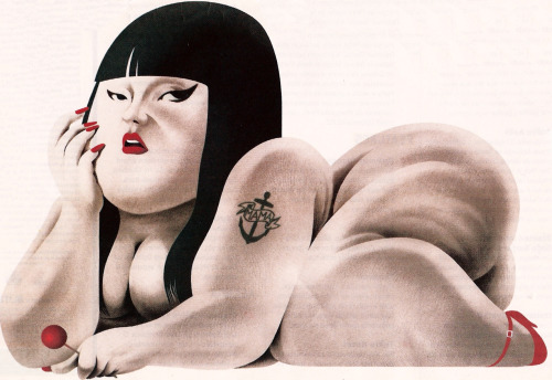 Great draw!!!!!! shakethecobwebs:  Beth Ditto | Cristo Salgado