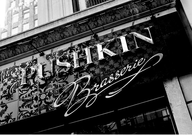 "IMPERIAL SPRINGThe Russians are coming! Brasserie Pushkin (nee Café Pushkin), thefirst New York project from Russian mega-restaurateur Andrey Dellos,is bringing imperial-influences dishes to Manhattan. ""He importedAndrey Makhov, the executive chef of his celebrated Cafe Pushkin inMoscow, and also a pastry chef by the name of Emmanuel Ryon,"" reportsEater.com. Spread out over two floors, the dining room is more opulentthan the Frick with huge chandeliers, ornate woodwork, and18-century-style paintings. Expect classics like beef stroganoff,blintzes, and blini with caviar, all prepared ""a la king.""Insider Opulent Russian Brasserie Pushkin photo via Eater.com"
