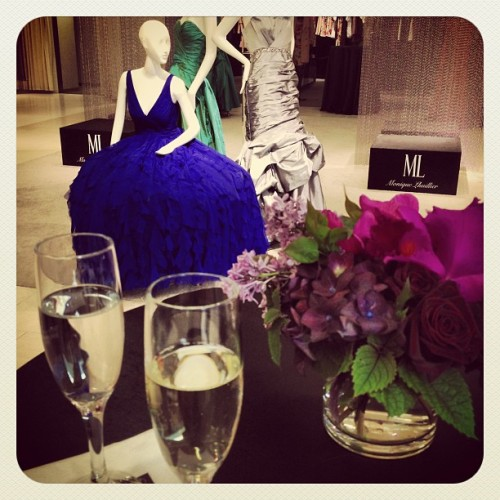 @m_lhuillier presentation. Mmm bubbly. (Taken with instagram)