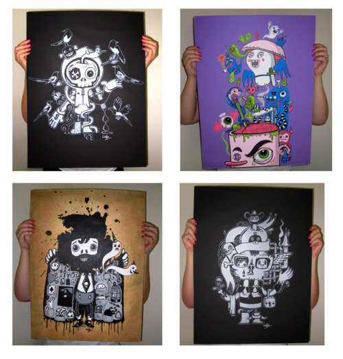 Prints - all sold out http://wotto.bigcartel.com/