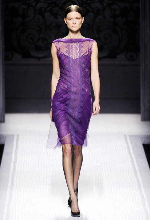 Royal Beauty. Alberta Ferretti Fall-Winter 2012.