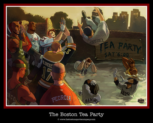 oh-paula:  Boston Tea Party
