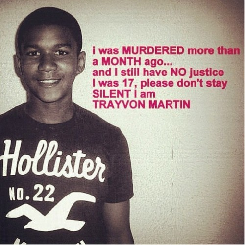 66lanvin:  wine-and-chocolates:  REBLOG NOW  4 TRAYVON…………No.1   Rest in peace