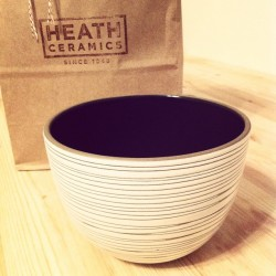 Visited @HeathCeramics today, and truly witnessed pure craftsmanship, and passion. #purequality (Taken with instagram)