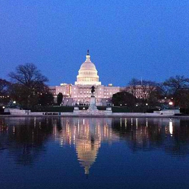 Just a quiet run around our lovely nation's Capitol. #mygiltcity #washingtondc #dc @marissajschneider #GiltCity #giltcitydc  (Taken with instagram)