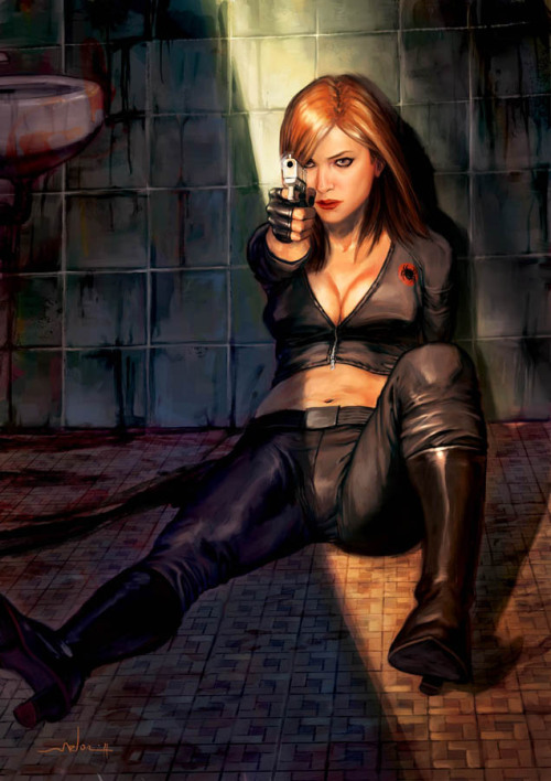 Artwork : Black Widow par AndreaMeloni