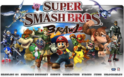 super smash bros <3 i play everyday