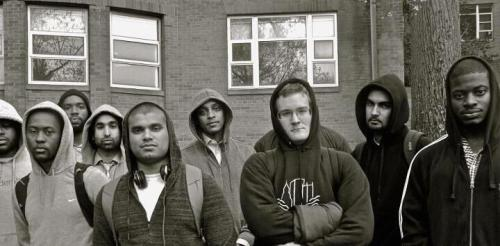 Am I suspicious? Howard University Law Students #MillionHoodies #TrayvonMartin
