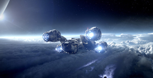Prometheus comes in for landing… New viral image in high res discovered on ProjectPrometheus.com. Find out how here.