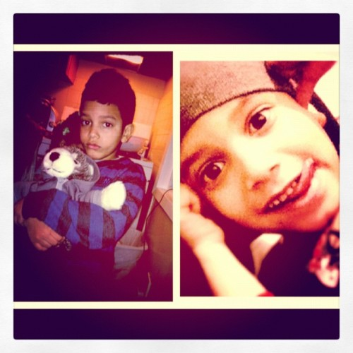 Baby brother :D (Taken with instagram)