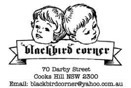 Kittyrobot is now stocked at Blackbird Corner, Darby St, Newcastle! Local people, and visitors to our pretty town.. go check it out!  Teacup rings, Teacup necklaces, Robot necklaces, and button sets are all available in store.