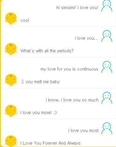 i love you Simsimi! XD