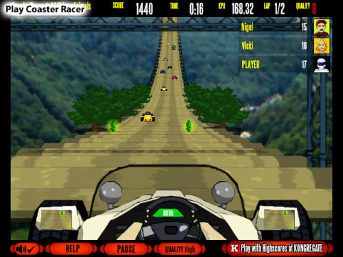 beplayed:  Play Coaster Racer | Free Online Games