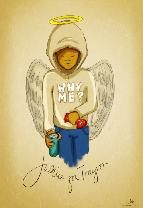 RIP TRAYVON. God Bless…