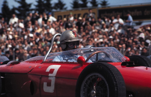 Wolfgang Von Trips at the 1961 German Grand Prix