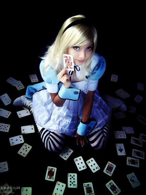 Alice from Alice's Adventures in WonderlandCosplayer:  Karen Kasumi