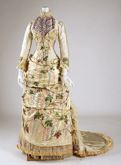 omgthatdress:  Dress 1882-1883 The Metropolitan Museum of Art