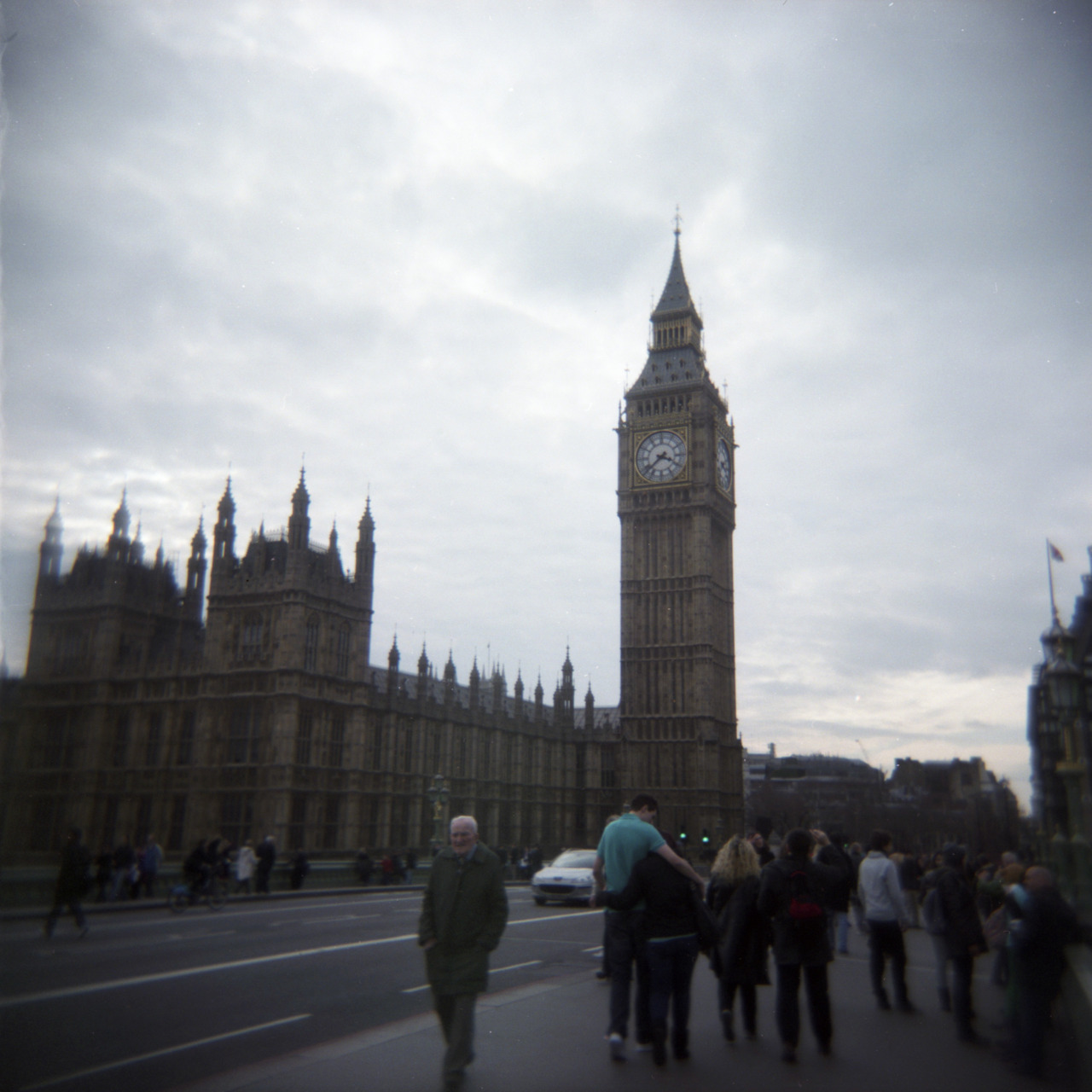 Big Ben, London Holga, Fuji PRO400
