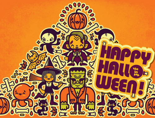 Happy Halloween!  by Chobopop on Flickr.