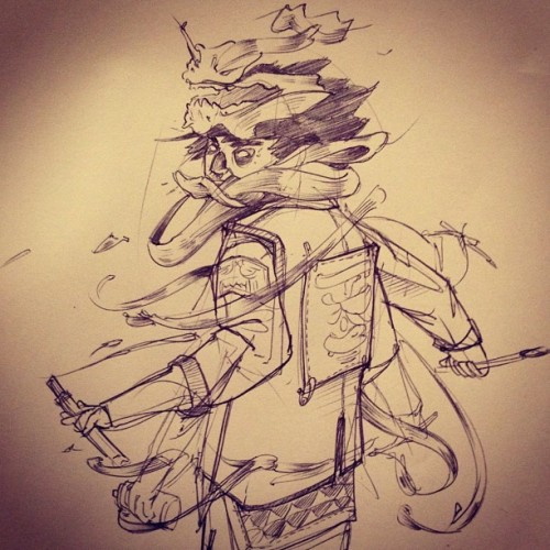 jonremowmdt:  Some sketching. Need a break from work (Taken with instagram)