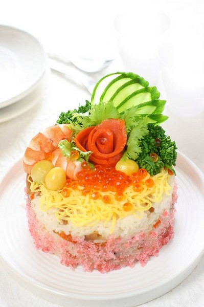 handmadepride:  Sushi cake Handmade Pride  o-oh oh my cod i need this in my life right noww its so fuckin beautiful