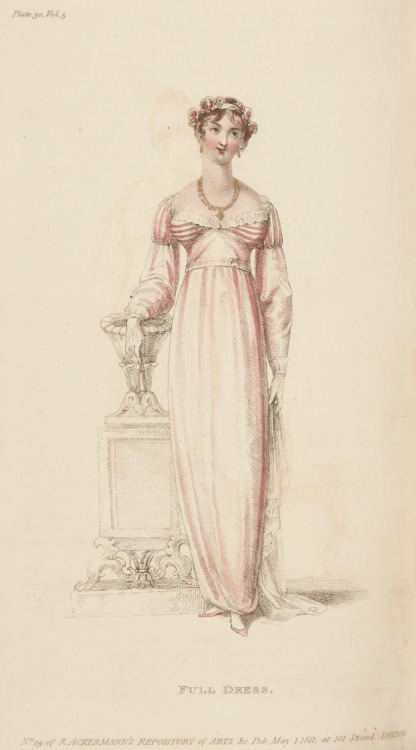 Ackermann's Repository, Full Dress, May 1811
