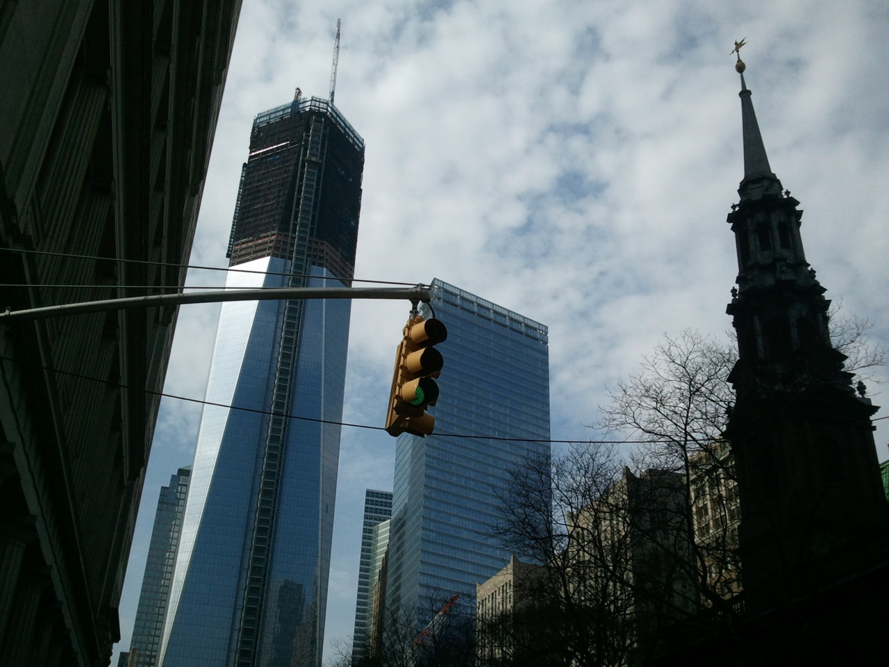 Le Freedom Tower.Camera: Samsung Focus.