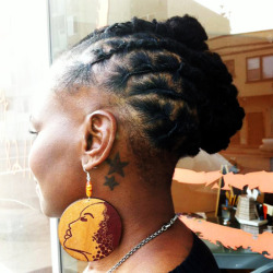 blkgirlsrock:  RaHakim:  Hair by: Knapyology Earrings by: Soul Apparel