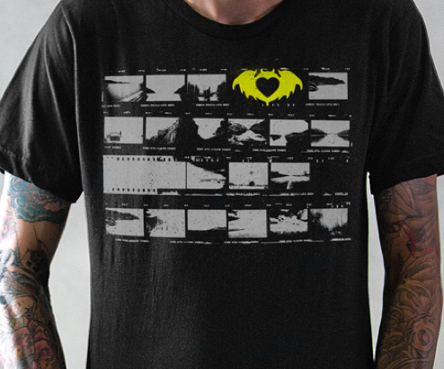 "The Filmstrip Tee From part 2 of our new ""Don't Let The Bastards Keep You Down"" Line."