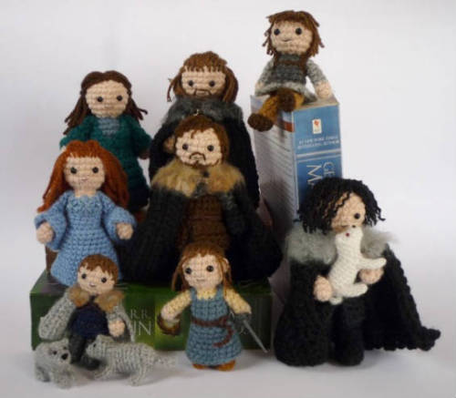 southernsara:  Crochet Game of Thrones (via 10 Clever and Creative Crochet Creations - Mental Floss)