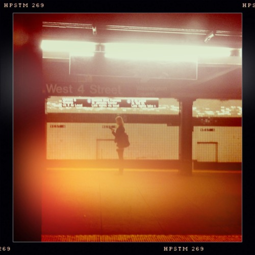 Downtown Girl. Kaimal Mark II Lens, Pistil Film, Dreampop Flash, Taken with Hipstamatic