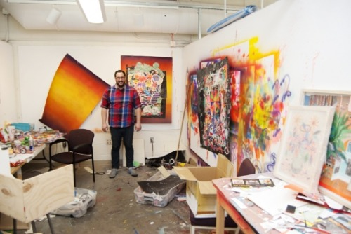PAPER TRAIL: IN THE STUDIO WITH STEVEN RIDDLE by New American Paintings