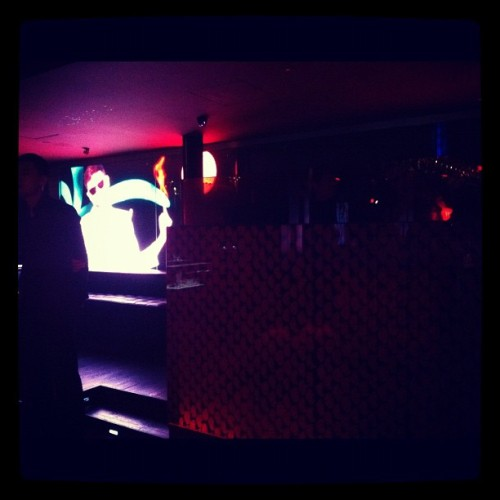 At Bar Rouge waiting for DJ Magician #shanghai #bar #night #dj #music (Taken with Instagram at Bar Rouge)