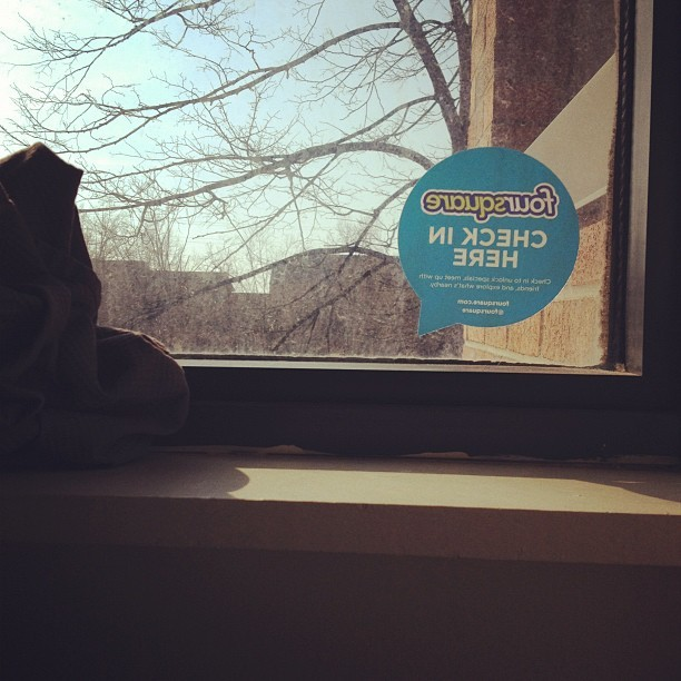 Check-in at my apartment. #4sqcling (Taken with instagram)
